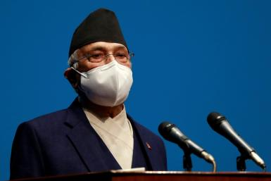 Nepal's Prime Minister KP Sharma Oli has been reappointed after he lost a no-confidence vote