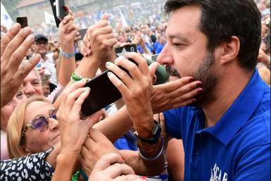 "Salvini was known for his ""Italians first"" policy"