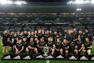 The three-time world champion All Blacks are recognised globally as rugby's most potent brand