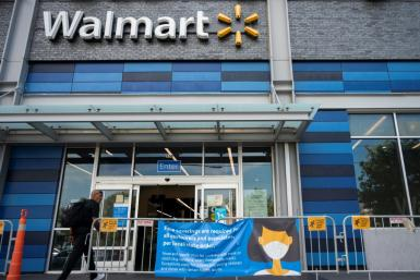 Walmart is one of the first major US corporations to end its mask-wearing requirement