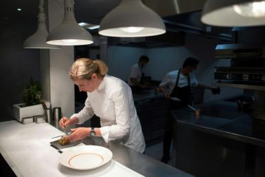 "Clare Smyth says getting the third Michelin star for her Core restaurant was a ""dream come true"""