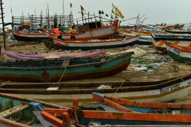 Cyclone Tauktae -- India's first major tropical storm this season -- is moving northwards, bringing heavy rains, thunderstorms and strong winds to several states
