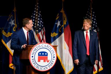 Former President Donald Trump At The North Carolina Republican Party's Convention