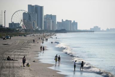 South Carolina's Horry county, home to Myrtle Beach, saw booming vacation home sales in 2020 even as the pandemic caused mass layoffs and a sharp slowdown in economic growth