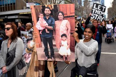 The family were sent to the Christmas Island detention centre in 2019, sparking protests calling for them to be allowed to stay