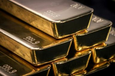 Gold, which is considered a safe haven against inflation, has taken a hit since the Federal Reserve's interest rate hike expectations were brought forward