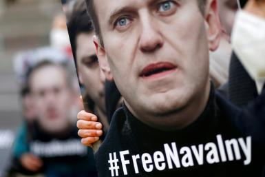 The United States warned of new sanctions against Russia over the near-fatal poisoning of Alexei Navalny