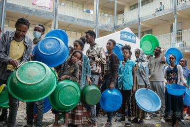 Ethiopia's northern Tigray region has been wracked by war and with some 350,000 people threatened by famine.