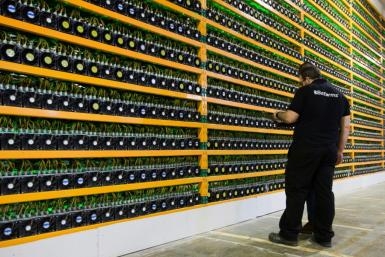 Theclosureof crypto mines in Sichuan province, like this one seen in Canada, has resulted in the closure of more than 90 percent of China's Bitcoin mining capacity, state media said