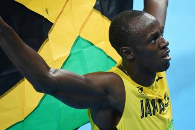 Usain Bolt announced the birth of twin boys on Father's Day