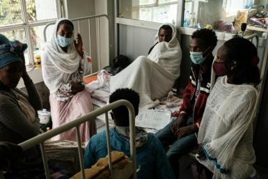 Emergency workers said soldiers had prevented some of the wounded from travelling to get hospital treatment