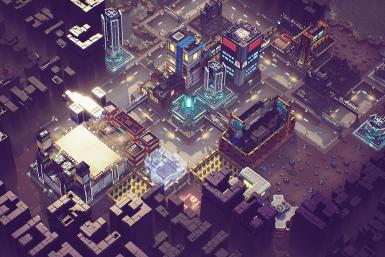 Industries of Titan lets players create a heavily-industrialized city on top of a ruined civilization