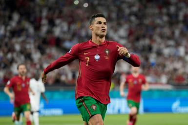 Nike cheered the return of pro sports and stars like Cristiano Ronaldo, which has boosted sales