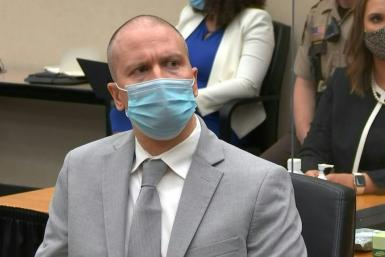SOUNDBITEFormer policeman Derek Chauvin is sentenced to 22 and a half years in jail for murdering African American George Floyd, a killing that sparked America's biggest demonstrations for racial justice in decades.