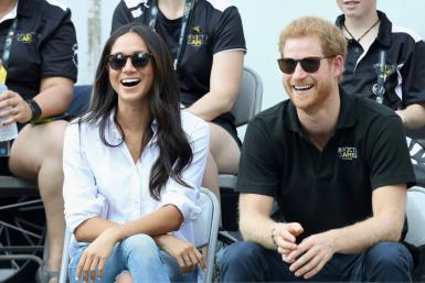 Prince Harry (R) and Meghan Markle (L) at the Invictus Games 2017 in Toronto, Canada in 2017: Meghan is to produce an animated series for the streaming platform Netflix