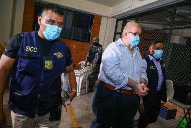 Ex-minister Carlos Caceres is among those arrested on charges of embezzling state funds