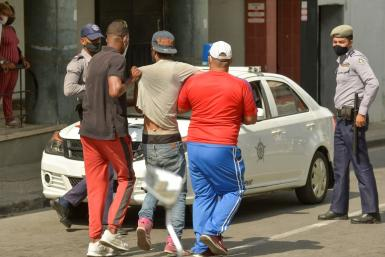 Hundreds in Cuba were arrested for protesting and many now face charges of contempt, public disorder, vandalism and propagation of the coronavirus epidemic for allegedly marching without face masks