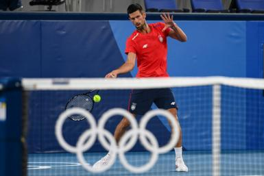 Novak Djokovic is aiming to win an elusive Olympic gold medal in Tokyo
