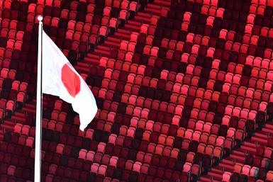 The opening ceremony unfolded in front of thousands of empty seats