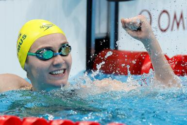 Australia's Ariarne Titmus added the 200m to her 400m crown