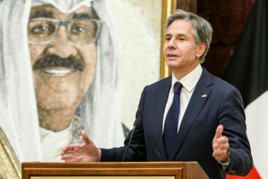 US Secretary of State Antony Blinken uses a visit to Kuwait to warn Iran that the ball is in its court in negotiations on restoring a landmark nuclear deal