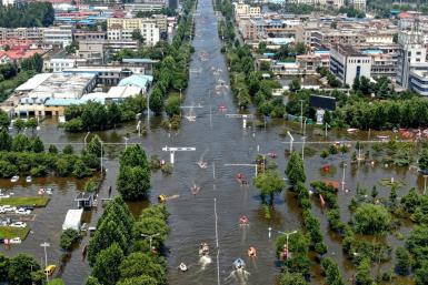Washington condemned 'harassment' of foreign journalists covering deadly floods in China's central Henan province