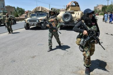 The speed and scope of the Taliban campaign has placed enormous strain on Afghanistan's elite military units, who have been constantly shuttled to hot spots where regular forces have buckled under the assault