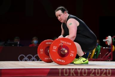 Weightlifter Laurel Hubbard failed to complete a lift at the Olympics but her supporters say she has struck a blow for the transgender community