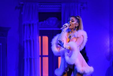 Ariana Grande, pictured January 2020, will appear as a human-fantasy creature hybrid in the popular video game Fortnite and perform some of her greatest hits