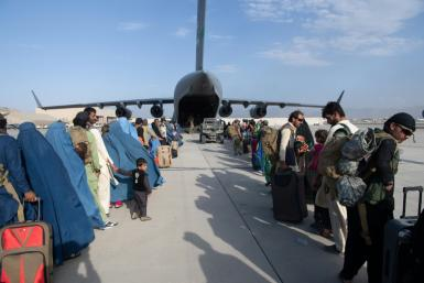 Over 80,000 people have been evacuated since August 14, but huge crowds remain outside Kabul airport hoping to flee the threat of reprisals and repression in Taliban-led Afghanistan.