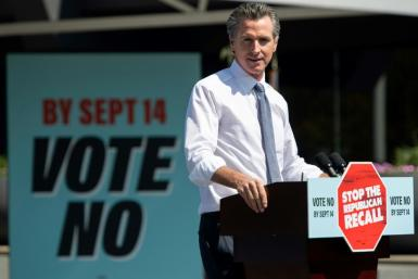 Opponents have blamed Newsom for the severity of the fires, but scientists say the warming climate and the extended drought is at the root of the devastation