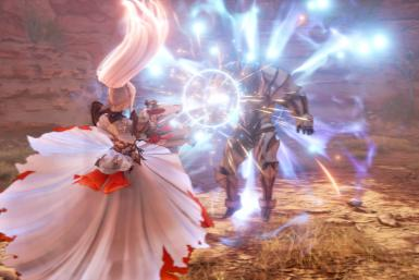 Tales of Arise has an action-based combat system that focuses on performing combos and synergizing with party members