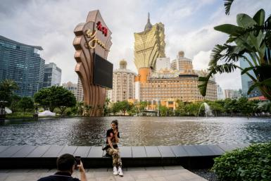 Casino firms suffered fresh losses in Hong Kong with traders spooked by the Macau government's plans to tighten its grip on the sector
