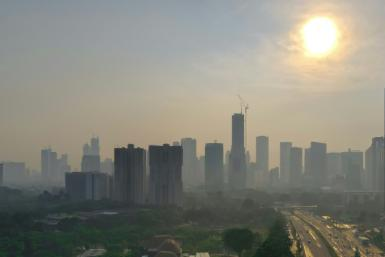 Jakarta is regularly ranked among the most polluted cities in the world