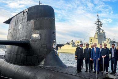 """France has called Australia's decision to cancel a submarine contract a """"stab in the back"""""""