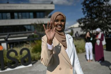 Halima Aden became the first contestant to wear a hijab and a burkini in a US state beauty pageant