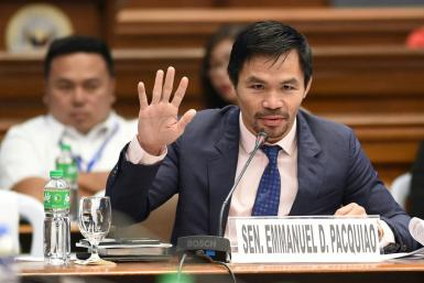Pacquiao entered politics in 2010 as a congressman, before being elected to the Senate