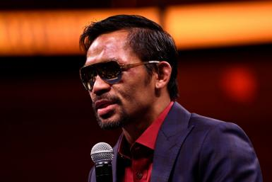 Pacquiao's star power in a country famed for its celebrity-obsessed politics will put him in a strong position in the presidential race