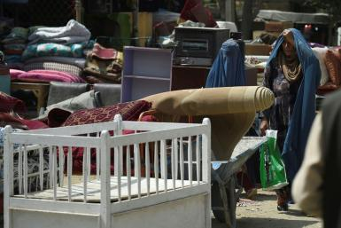 Afghan women have effectively been barred from work and school