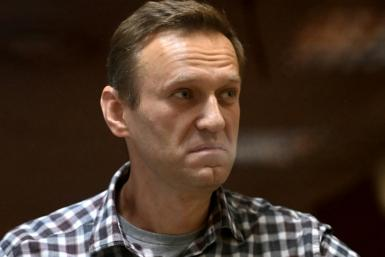 In a message from prison, Kremlin critic Alexei Navalny (pictured February 2021) praised his supporters' tactical voting in an effort to weaken the ruling party but said those results had been stolen