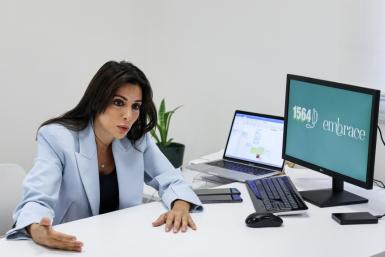 Mia Atoui, cofounder and vice president of Embrace, an NGO which runs a suicide-prevention hotline in Lebanon, says a lot of people have lost hope