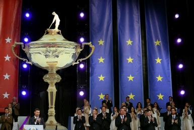 Captains Padraig Harrington and Steve Stricker announced the pairings for Friday's opening foursomes matches at Thursday's opening ceremony for the 43rd Ryder Cup