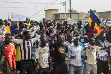 Chad has seen several bouts of unrest since a junta took charge in the April death fighting rebels of former president Idriss Deby Itno