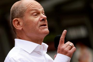 Olaf Scholz, the centre-left Social Democrat candidate for chancellor, has sought to position himself as the true Merkel continuity candidate