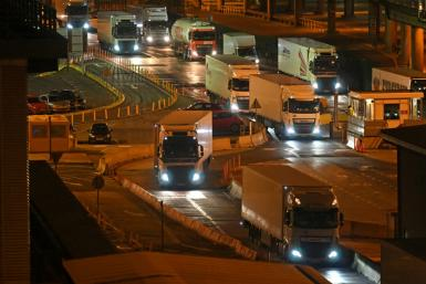 The British government insists Brexit is not to blame, although post-Brexit immigration rules have made it tougher for drivers from Europe to work in the UK