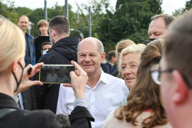 Finance Minister and Vice Chancellor Olaf Scholz, 63, of the SPD, has positioned himself as a safe pair of hands