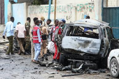 The bombing took place within a kilometre of Villa Somalia, the presidential palace