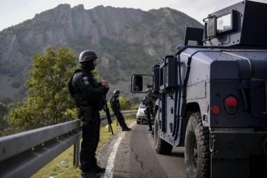 Kosovo special police units were deployed to the border with Serbia, in the latest source of tension between Belrade and its breakaway rebublic
