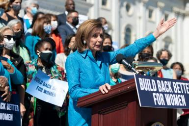 US Speaker of the House Nancy Pelosi wants her Democrats to push through trillions of dollars worth of investments in infrastructure and social service programs before a self-imposed deadline of September 30, 2021