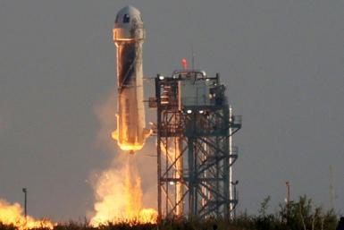Blue Origin, the space company owned by Amazon's Jeff Bezos, said its next space flight will take place on October 12